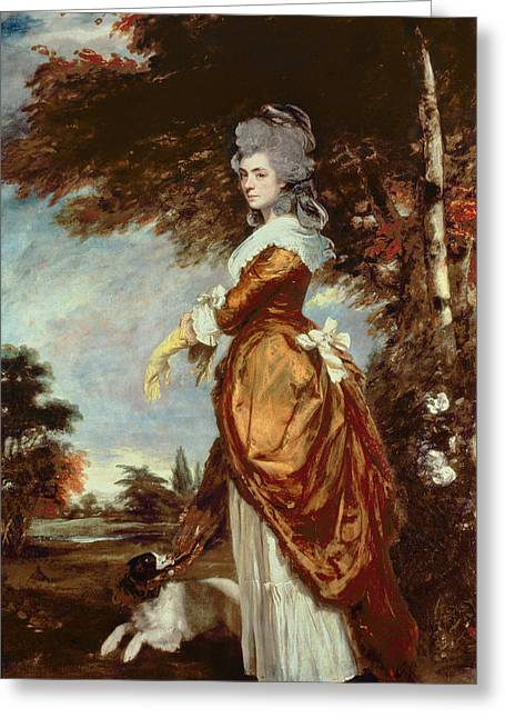 Aristocrat Greeting Cards - Mary Amelia First Marchioness of Salisbury Greeting Card by Sir Joshua Reynolds