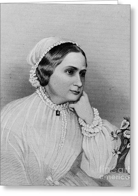Custis Greeting Cards - Mary Custis Lee (1806-1873) Greeting Card by Granger