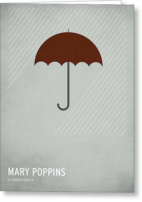 Digital Art Greeting Cards - Mary Poppins Greeting Card by Christian Jackson
