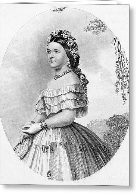 Mary Todd Lincoln Greeting Cards - Mary Todd Lincoln Greeting Card by Granger
