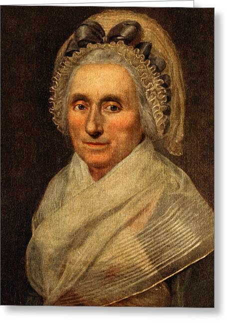 Lady Washington Greeting Cards - Mary Washington - First Lady  Greeting Card by International  Images