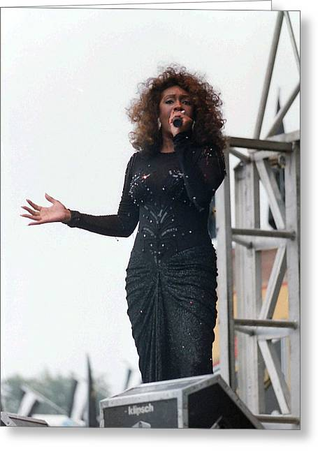 Mary Wilson Greeting Card by Mike Martin
