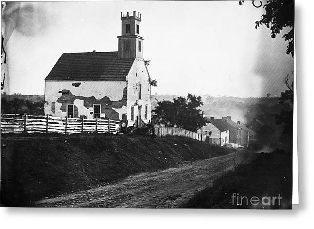 Maryland: Church, 1862 Greeting Card by Granger