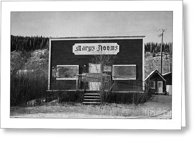 Old House Photographs Greeting Cards - Marys Rooms Greeting Card by Priska Wettstein