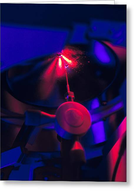 Spectrometer Greeting Cards - Mass Spectrometer In Protein Research Greeting Card by Volker Steger