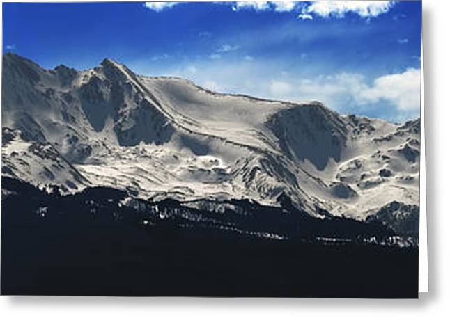 Leadville Greeting Cards - Massive View Greeting Card by Darryl Gallegos
