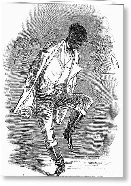 Black Boots Photographs Greeting Cards - MASTER JUBA (c1825-c1852) Greeting Card by Granger