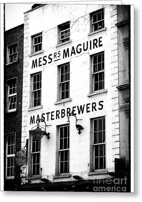 White Decor Posters Greeting Cards - Masterbrewers Greeting Card by John Rizzuto