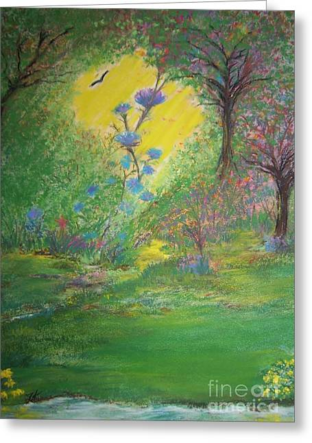 Wild Life Pastels Greeting Cards - Mastering the Beautiful Wild Life Greeting Card by Tammy Rainey