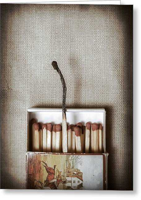 Match Greeting Cards - Matches Greeting Card by Joana Kruse