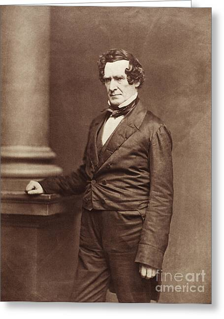 Self-portrait Photographs Greeting Cards - Mathew Brady, Father Of Photojournalism Greeting Card by Science Source