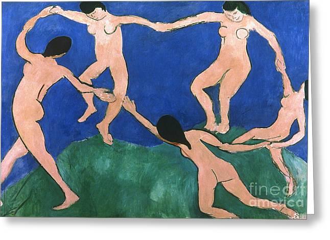 Modern Art Photographs Greeting Cards - Matisse: Dance, 1909 Greeting Card by Granger