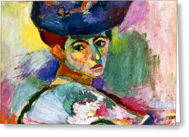 MATISSE: WOMAN W/HAT, 1905 Greeting Card by Granger