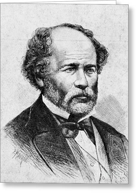 Educators Greeting Cards - Matthew Fontaine Maury, American Greeting Card by Science Source