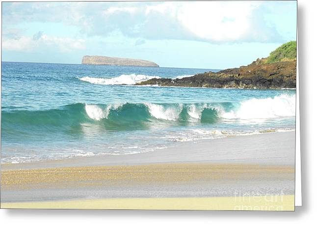 Ocean Beach Photos Greeting Cards - Maui Hawaii Beach Greeting Card by Rebecca Margraf