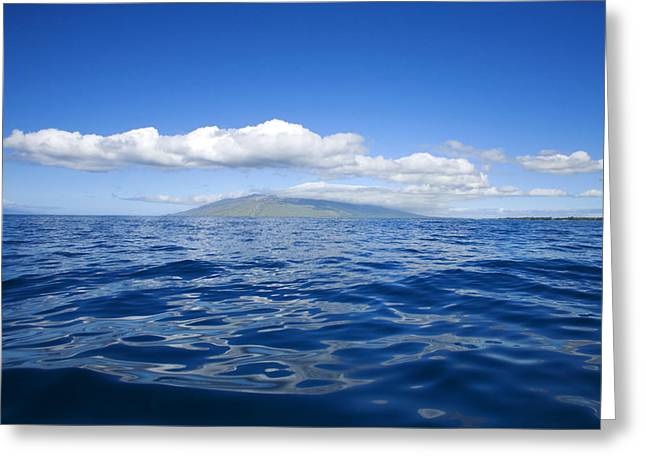 Lahaina Greeting Cards - Maui mountains Greeting Card by Ron Dahlquist - Printscapes