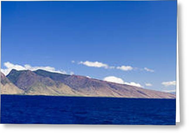 Lahaina Greeting Cards - Maui Panorama Greeting Card by Dave Fleetham - Printscapes