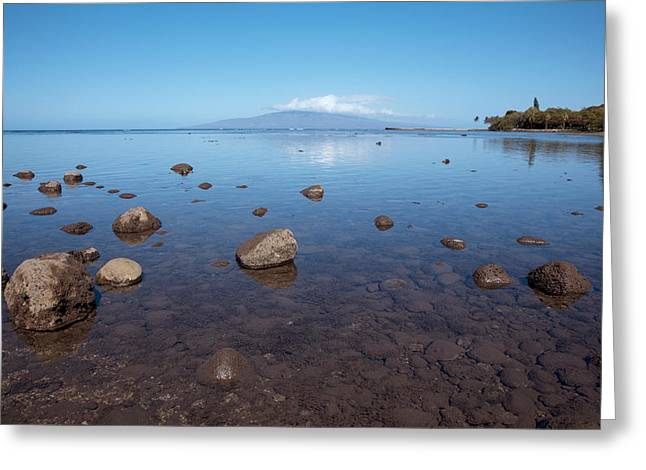 Lahaina Greeting Cards - Maui Rocky Shore Greeting Card by Jenna Szerlag