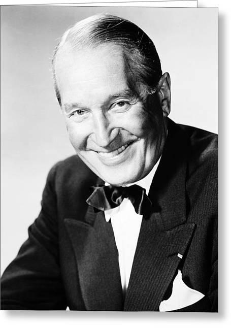 Chevalier Photographs Greeting Cards - Maurice Chevalier Greeting Card by Granger