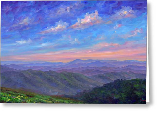 Best Sellers -  - Patch Greeting Cards - Max Patch North Carolina Greeting Card by Jeff Pittman