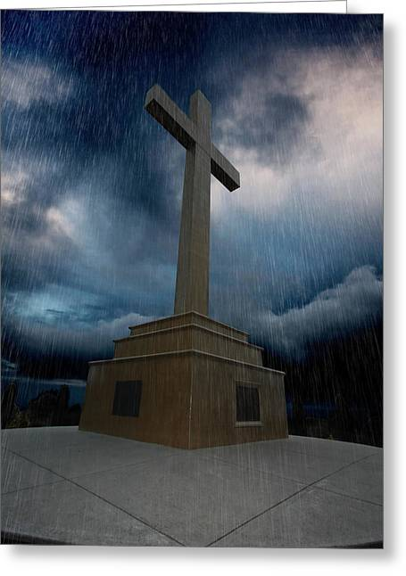 Anzac Greeting Cards - May their memory and spirit never be dampend Greeting Card by David Hibberd