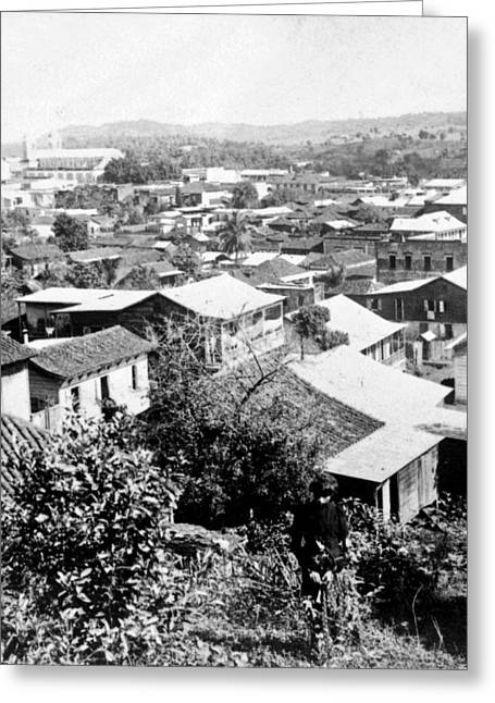 Ciudad Greeting Cards - Mayaguez - Puerto Rico - c 1900 Greeting Card by International  Images