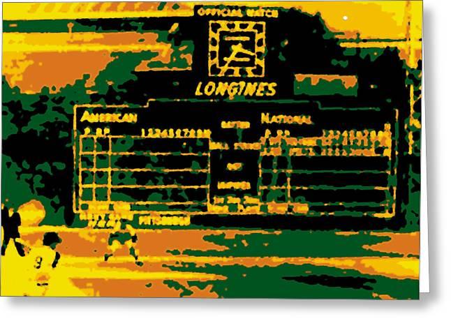 Maz World Series Homer Greeting Card by Ron Regalado