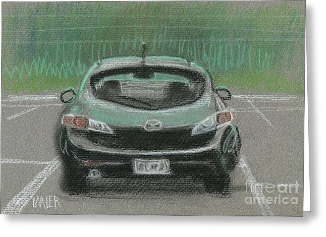 Mazda Greeting Cards - Mazda Greeting Card by Donald Maier