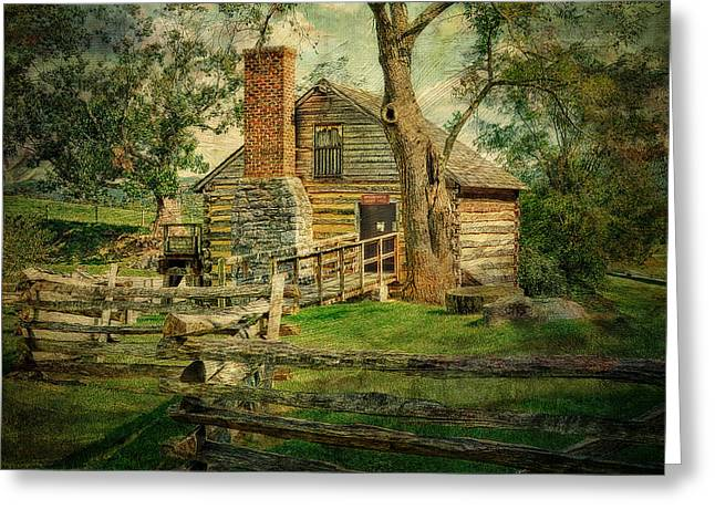 Mccormicks Farm Greeting Cards - McCormick Grist Mill Greeting Card by Kathy Jennings
