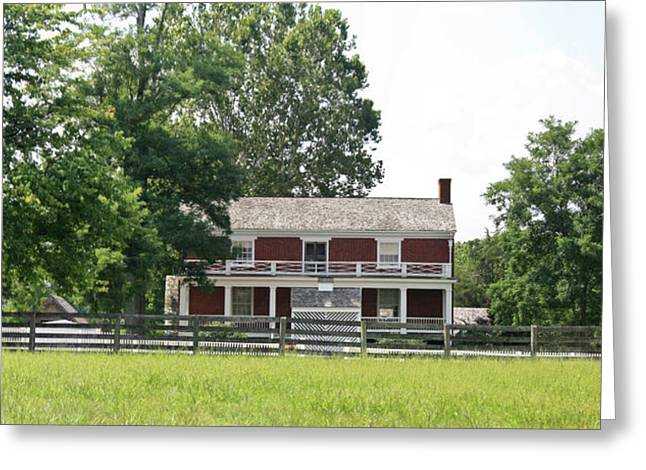 Civil War Site Photographs Greeting Cards - McLean House Appomattox Court House Virginia Greeting Card by Teresa Mucha