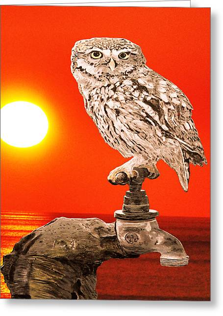 Ellenisworkshop Greeting Cards - Me Myself And I  Greeting Card by Eric Kempson