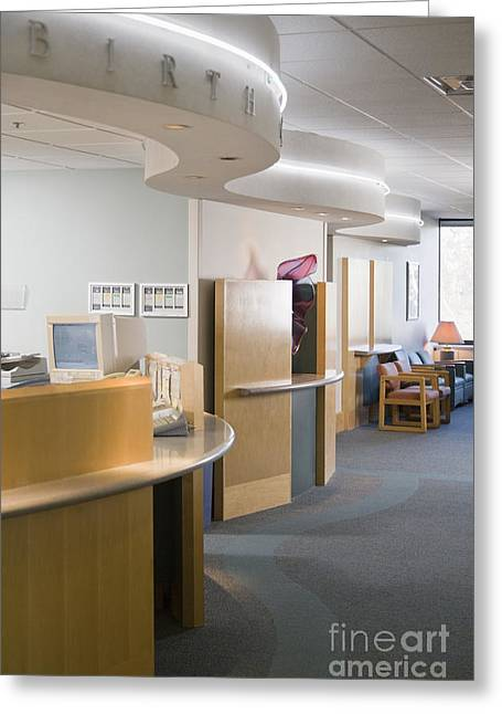 Reception Greeting Cards - Medical Reception Area Greeting Card by Andersen Ross