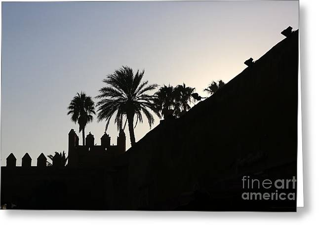Rabat Photographs Greeting Cards - Medina I Rabat Greeting Card by Chuck Kuhn