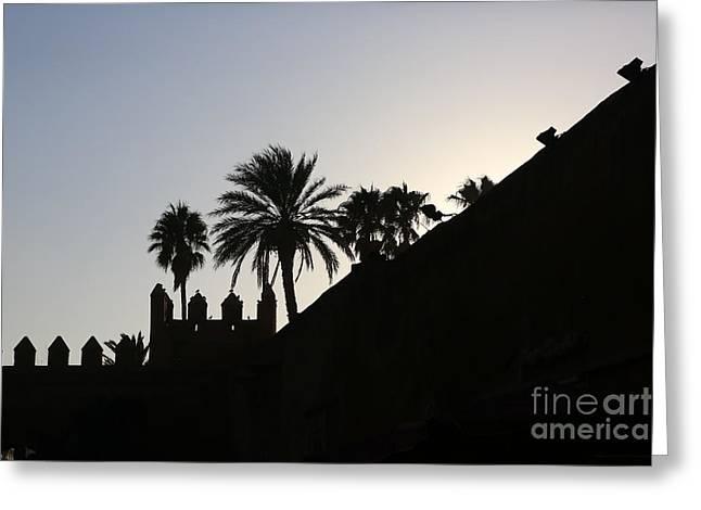 Medina I Rabat Greeting Card by Chuck Kuhn