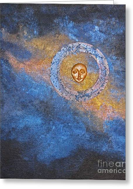 Mind-body-spirit Greeting Cards - Meditation 12 Greeting Card by Ellen Miffitt