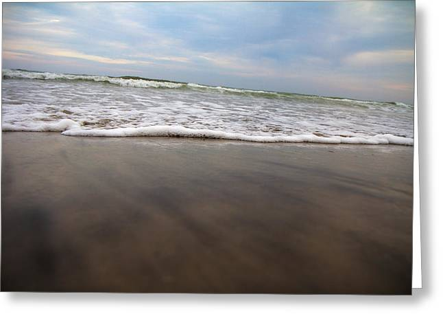 Incoming Tide Greeting Cards - Meditative Forces Greeting Card by Betsy C  Knapp