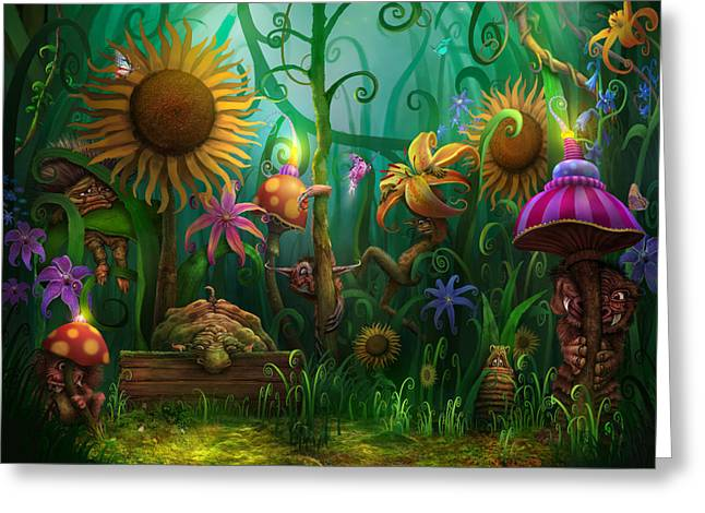 Enchanting Greeting Cards - Meet The Imaginaries Greeting Card by Philip Straub