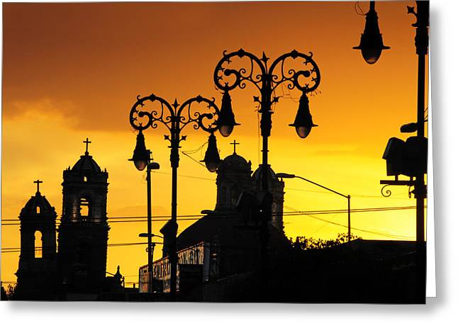 Mexico City Greeting Cards - Megiddo Greeting Card by Skip Hunt
