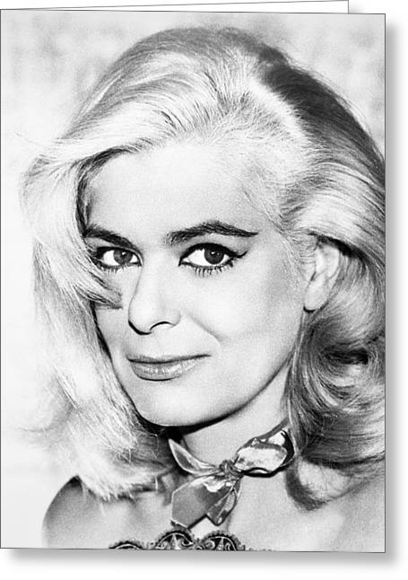 1964 Movies Greeting Cards - Melina Mercouri (1923-1994) Greeting Card by Granger