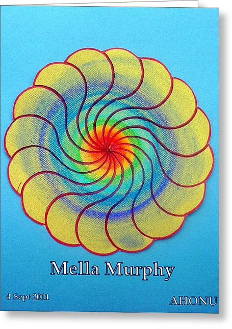 Purpose Pastels Greeting Cards - Mella Murphy Greeting Card by Ahonu