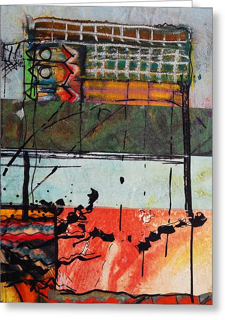 What Is Life? Mixed Media Greeting Cards - Melody Greeting Card by Jorge Luis Bernal