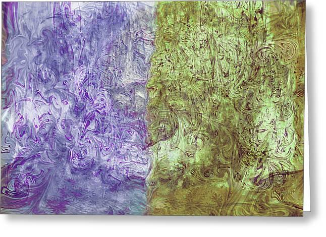Abstract Digital Art Digital Art Greeting Cards - Membranes Greeting Card by Linda Sannuti