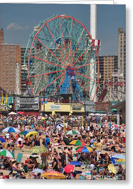 Bklyn Greeting Cards - Memorial Day Weekend Greeting Card by Mark Gilman