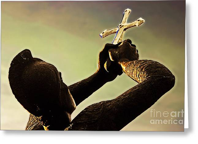 Hommage Greeting Cards - Memorial to Armenian genocide Greeting Card by Tom Gari Gallery-Three-Photography