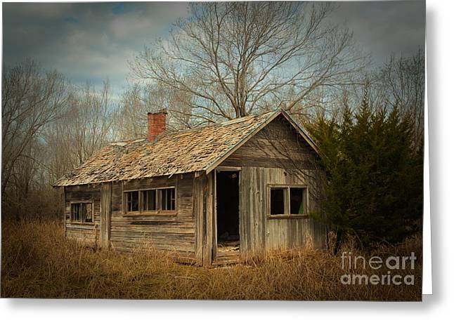Abandoned Houses Greeting Cards - Memories Are Made of This Greeting Card by Betty LaRue