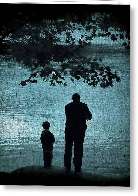 Lessons Greeting Cards - Memories Greeting Card by Darren Fisher