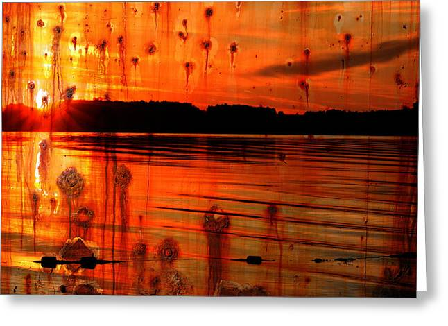 Photographs Photographs Greeting Cards - Memories Shall Not Rust Greeting Card by Jerry Cordeiro