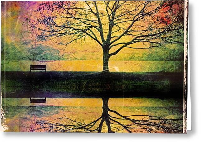 Memory Over Water Greeting Card by Tara Turner