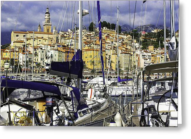 Menton Greeting Cards - Menton Greeting Card by Stavros Argyropoulos
