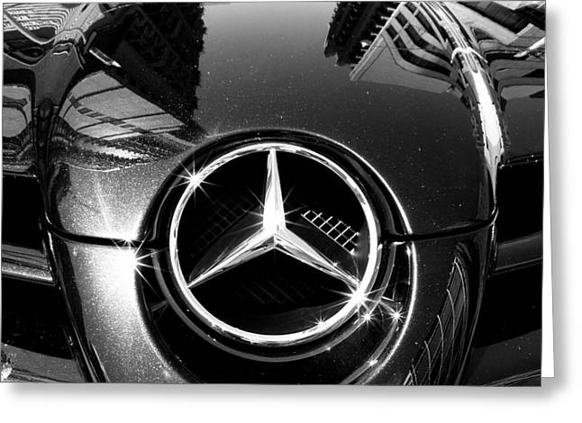 Slr Greeting Cards - Mercedes Maclaren Greeting Card by Andrew Fare